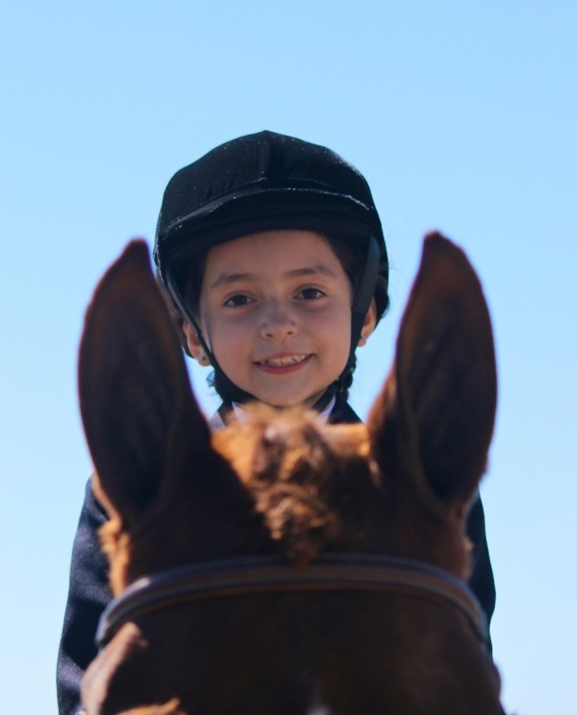 Beginner Riding Lessons 4